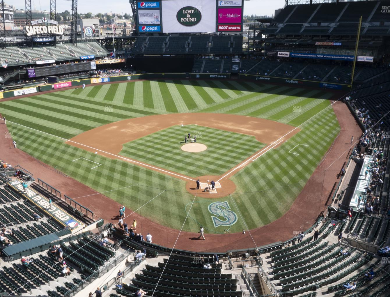 Seattle Mariners at T-Mobile Park Section 331 View
