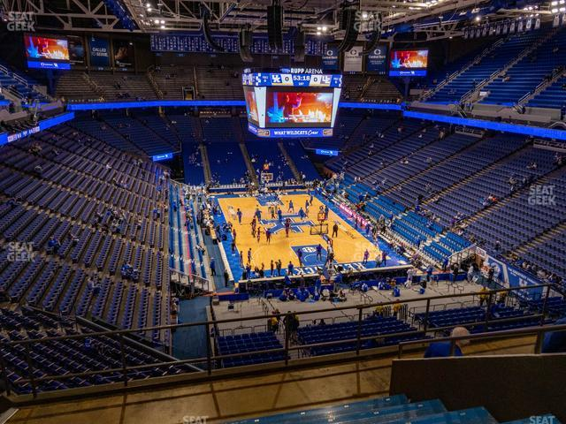 Rupp Arena Section 241 view