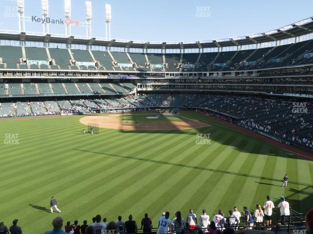 Progressive Field Section 182 view