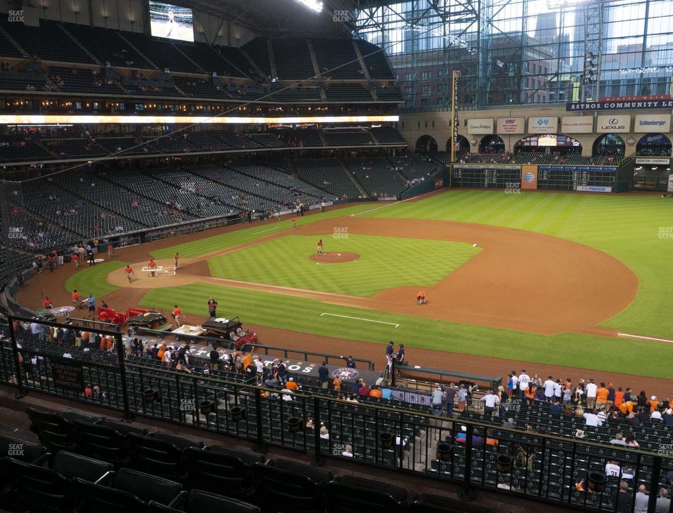 Minute Maid Park Section 227 Seat Views Seatgeek