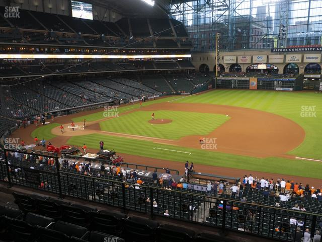 Minute Maid Park Section 227 view