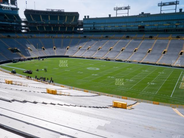 Lambeau Field Section 111 view