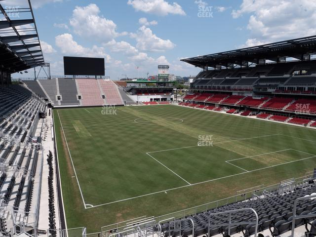 Audi Field Section 120 view