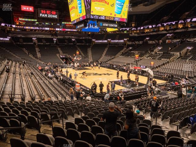 AT&T Center Section 103 view