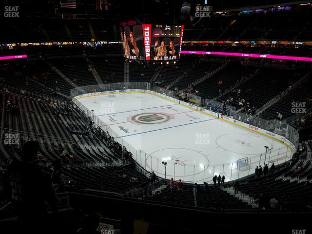T-Mobile Arena Section 117 view