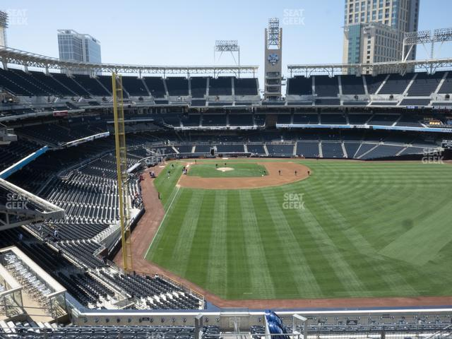 Petco Park Section 229 view