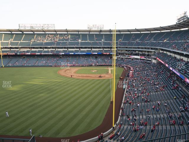 Angel Stadium of Anaheim Section 401 view