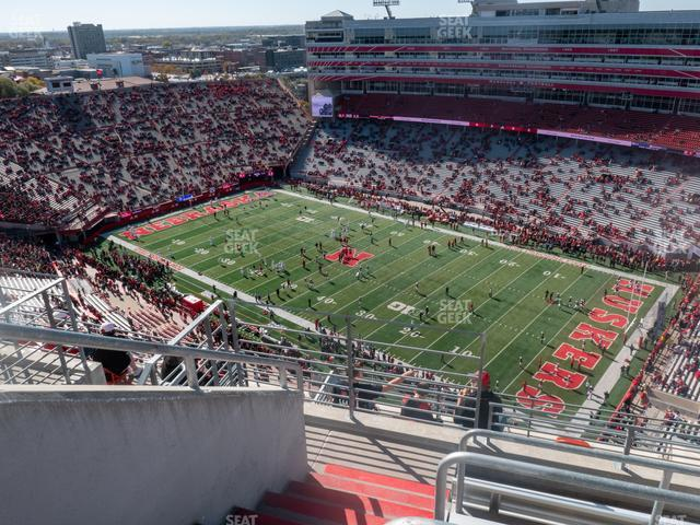 Memorial Stadium Nebraska Section 601 view