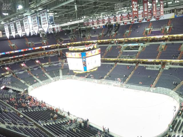 Capital One Arena Section 404 view