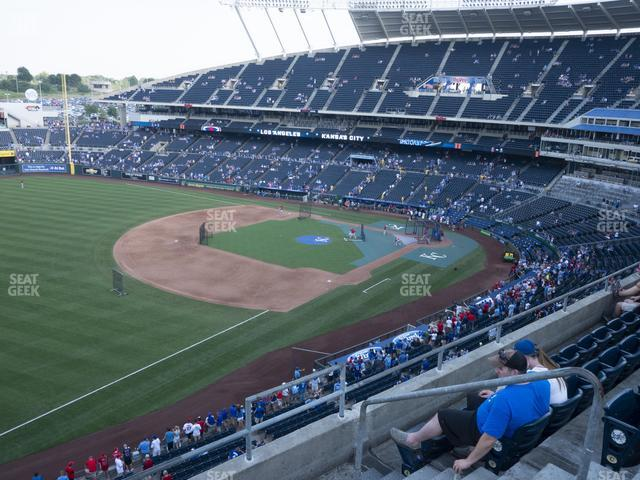 Kauffman Stadium Section 404 view