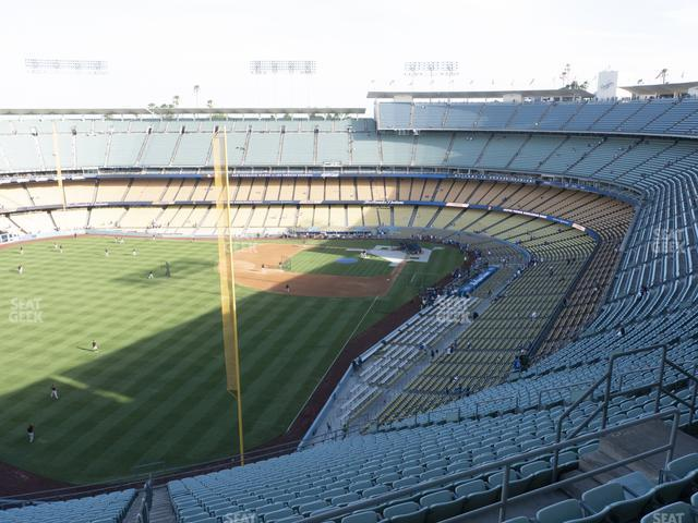 Dodger Stadium Reserve 57 view