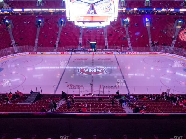 Bell Centre Section 213 view