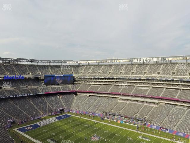 MetLife Stadium Section 334 view