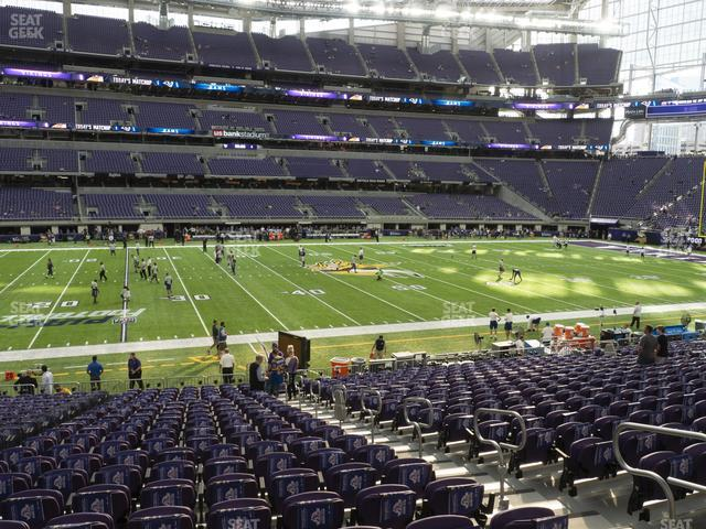 U.S. Bank Stadium Section V 5 view