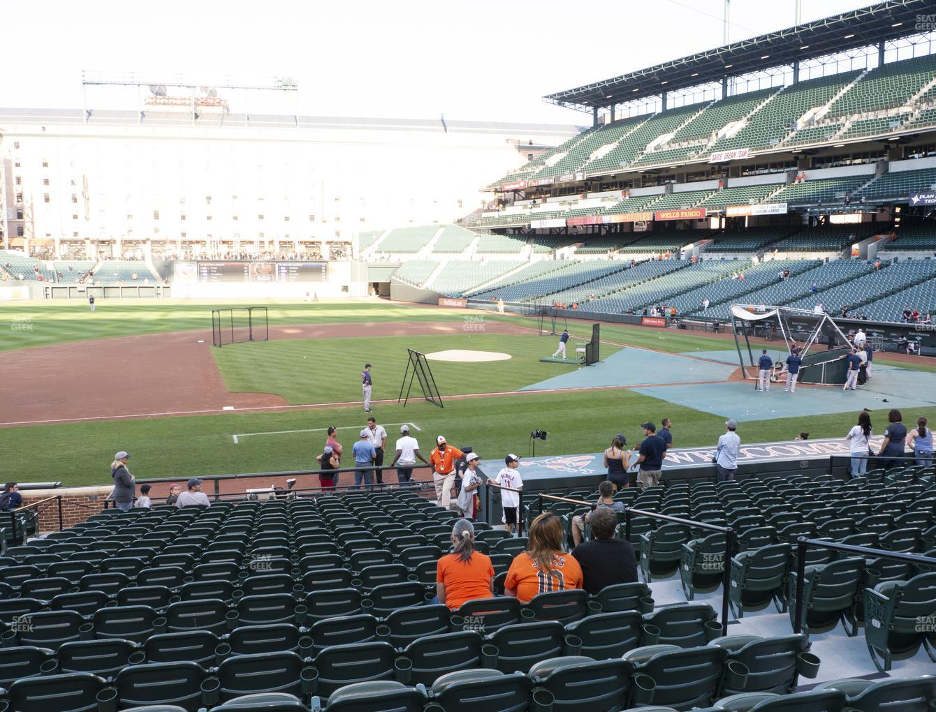 Oriole Park At Camden Yards Section 54 Seat Views Seatgeek