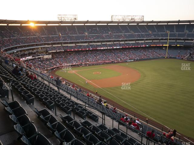 Angel Stadium of Anaheim Section 534 view