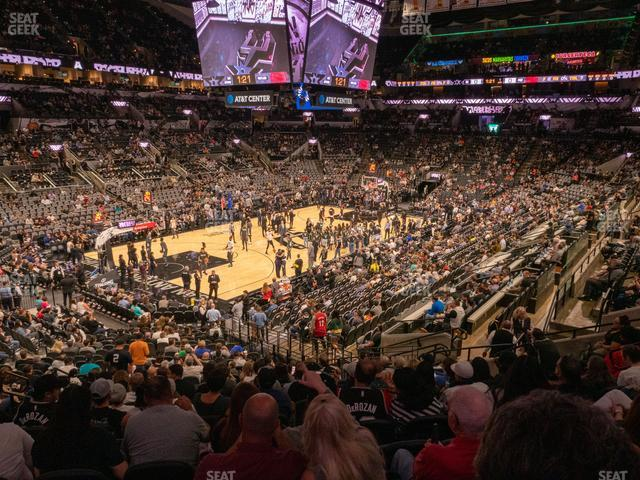 AT&T Center Section 111 view