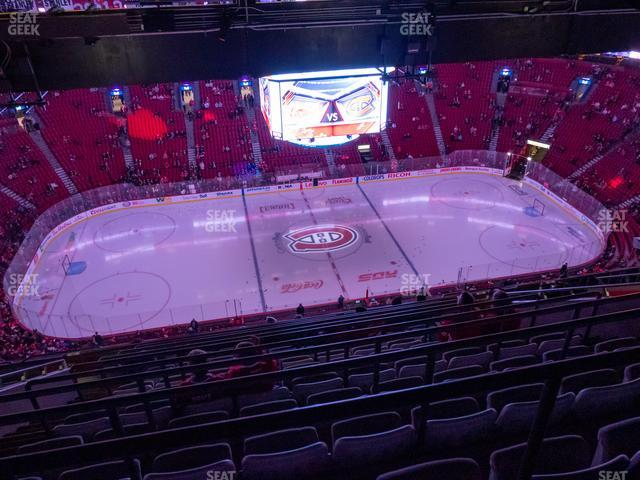 Bell Centre Section 402 view