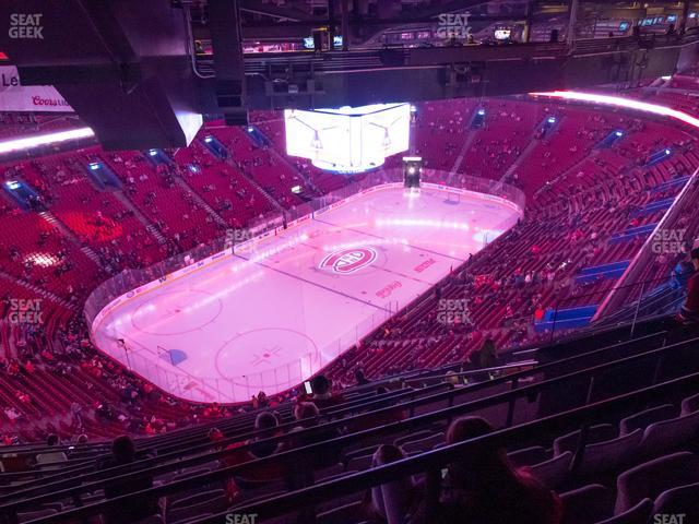 Bell Centre Section 406 view