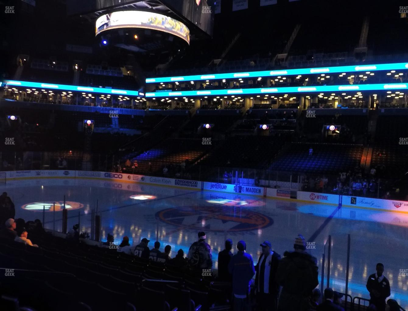 New York Islanders at Barclays Center Section 6 View