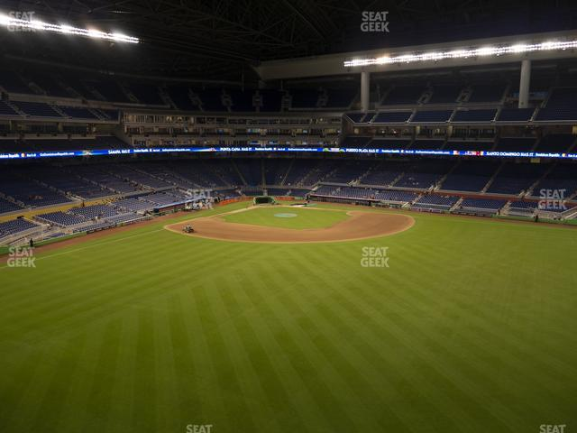 Marlins Park Section 136 view