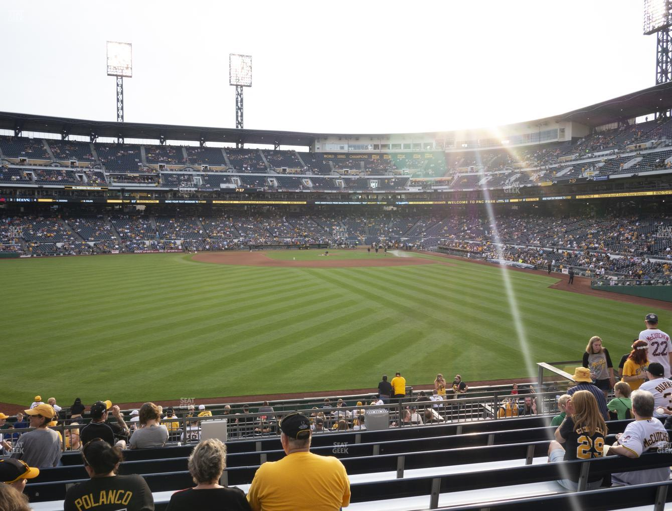 Pittsburgh Pirates at PNC Park Section 135 View
