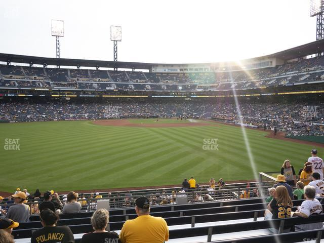 PNC Park Section 135 view