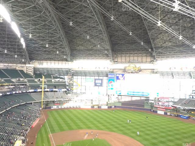 Miller Park Section 419 view