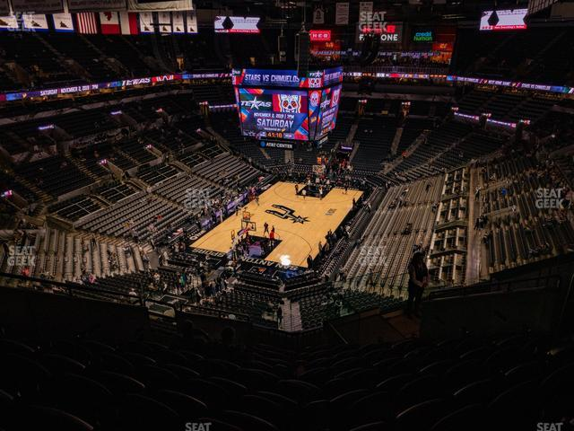 AT&T Center Section 230 view
