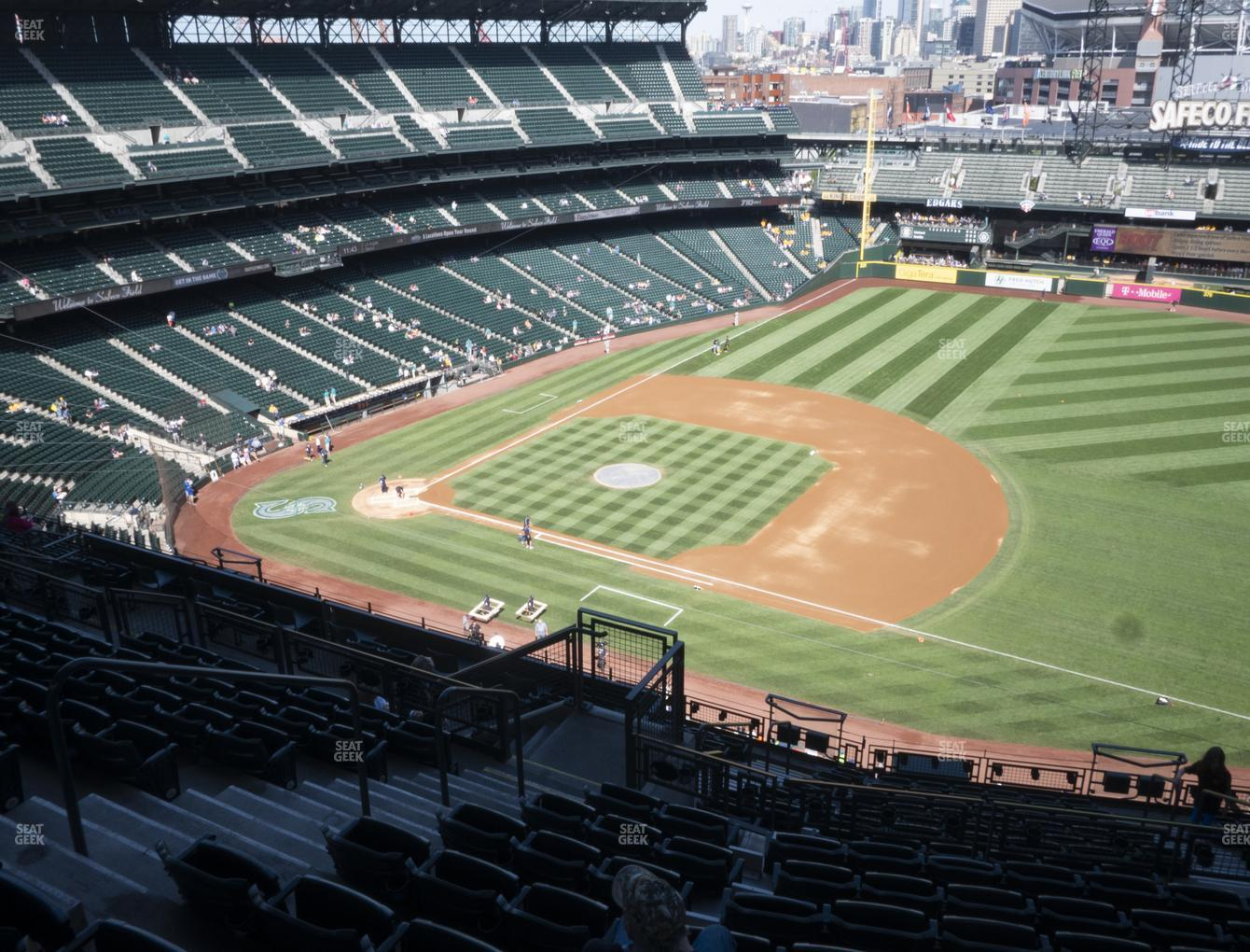 Seattle Mariners at T-Mobile Park Section 319 View