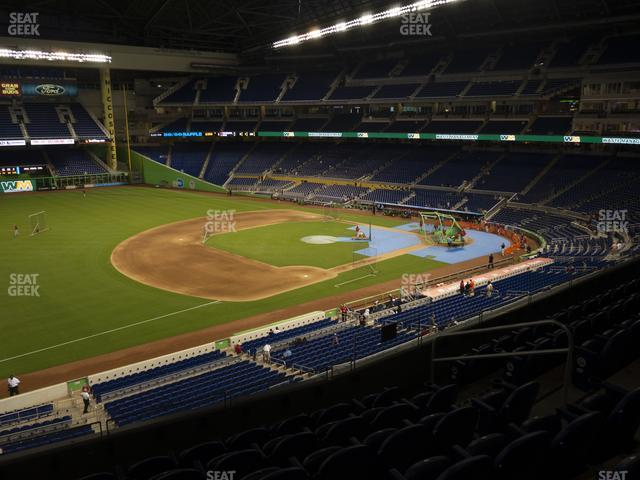 Marlins Park Section 224 view