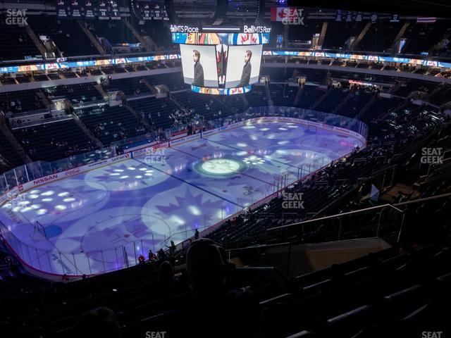 Bell MTS Place Section 308 view