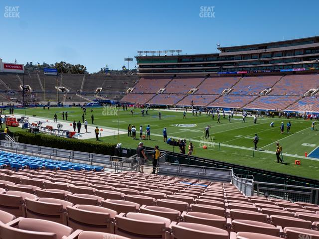 Rose Bowl Lower 7 H view
