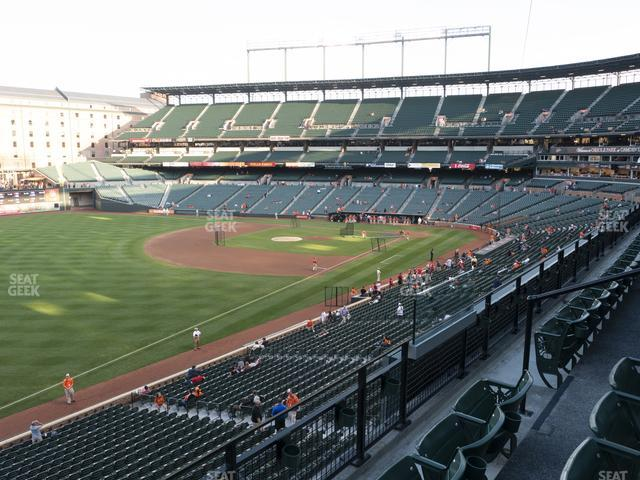 Oriole Park at Camden Yards Section 264 view