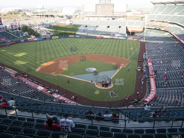 Angel Stadium of Anaheim Section 518 view