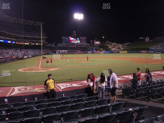 Angel Stadium of Anaheim Section 122 view
