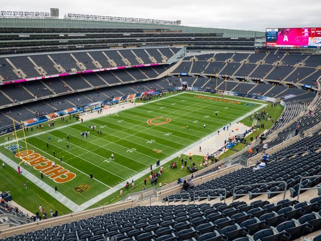 Soldier Field Section 444 view