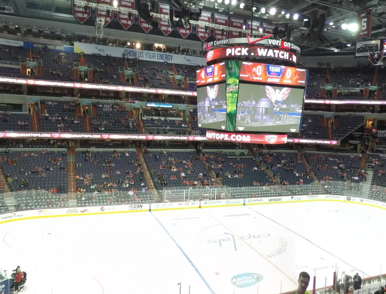 Washington Capitals at Capital One Arena Section 228 View