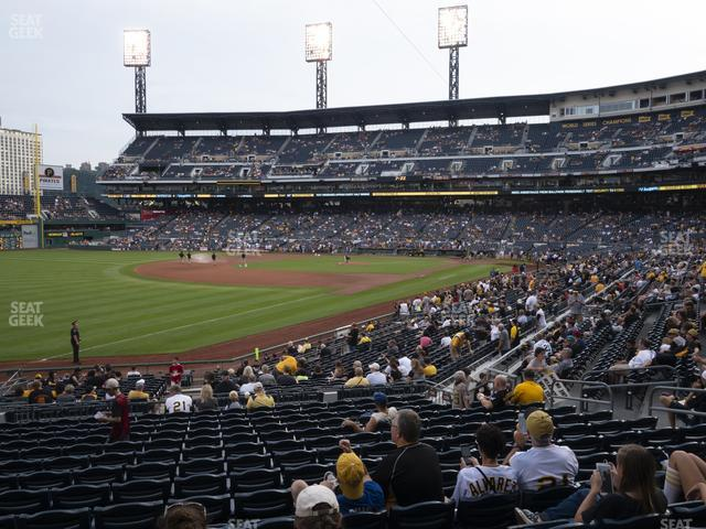 PNC Park Section 130 view
