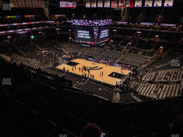 AT&T Center Section 221 view