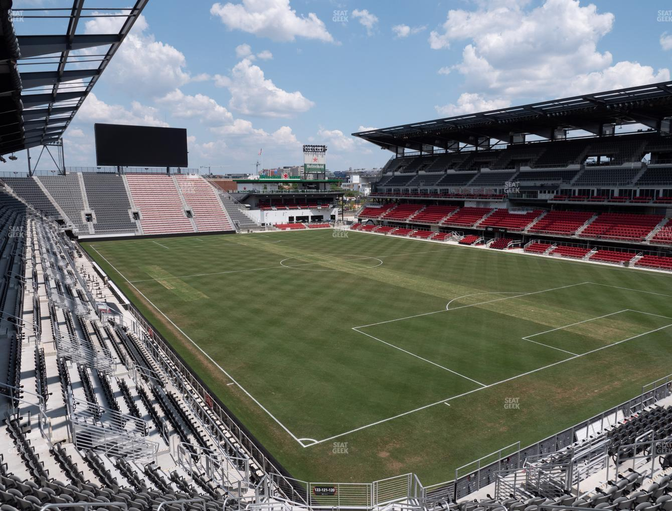 D.C. United at Audi Field Section 121 View