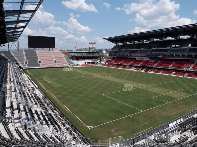 Audi Field Section 121 view