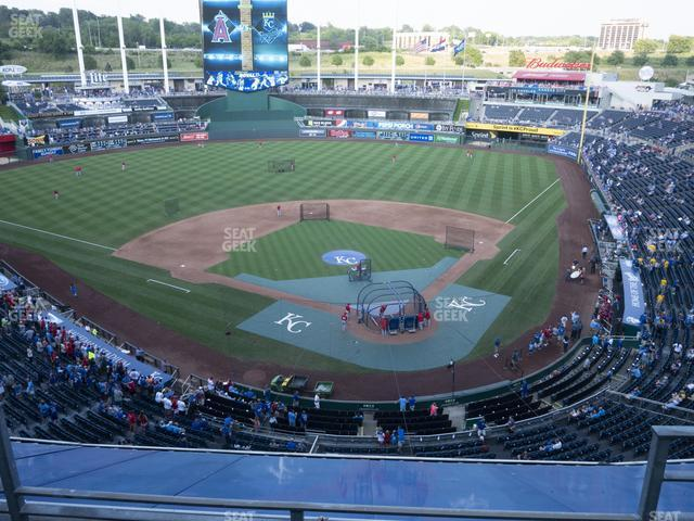 Kauffman Stadium Section 418 view