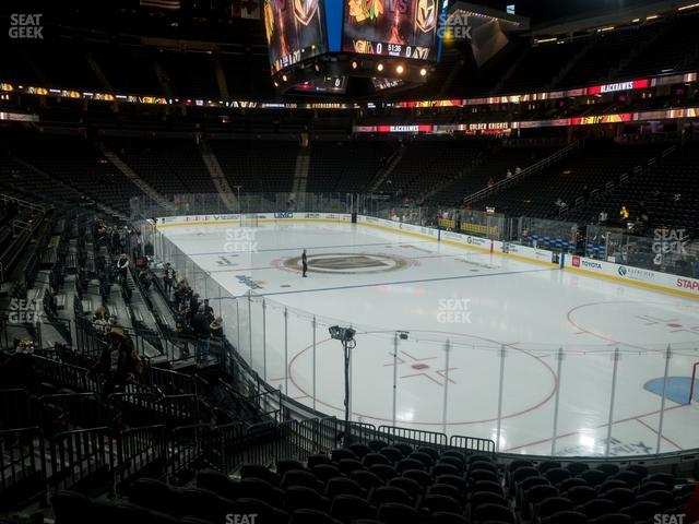 T-Mobile Arena Section 19 view