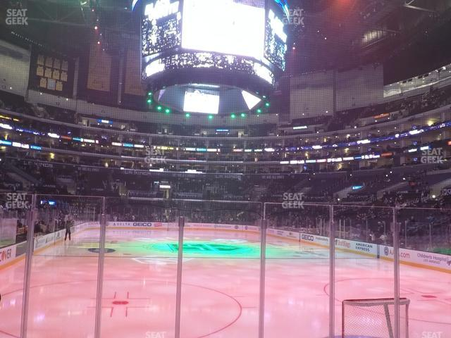 Staples Center Section 116 view