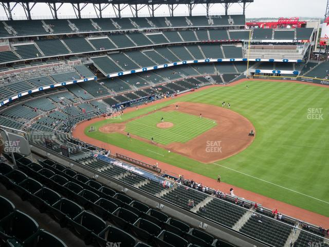 SunTrust Park Section 415 view