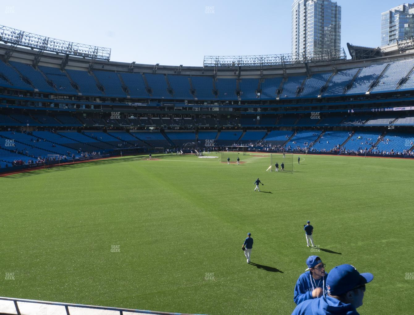 Toronto Blue Jays at Rogers Centre Section 103 L View