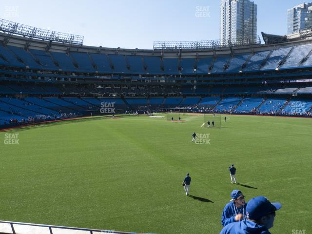 Rogers Centre Section 103 L view