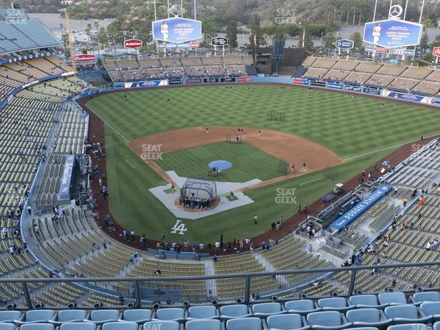 Dodger Stadium Section Top Deck 4 view