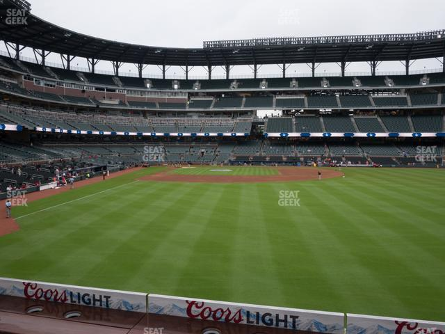 SunTrust Park Section 158 view